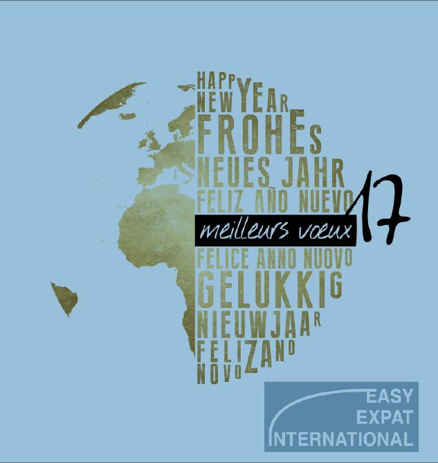 Easy Expat International S.A vous adresse ses meilleurs voeux pour l'année 2017