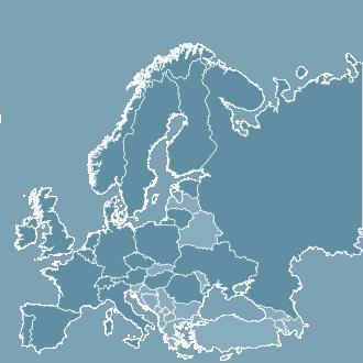 mobilisation internationale europe, map