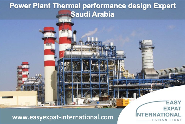Power Plant Thermal Performance Design Expert for a mission in Saudi Arabia